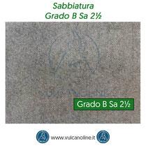Grado di sabbiatura B Sa 2½