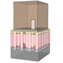 柱状地盤改良イメージ