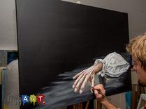 Acrylmalerei - Schatten malen