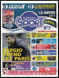Journal  Nantes-PSG  2016-17