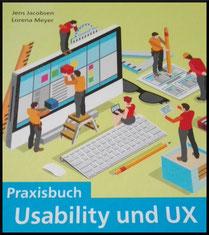 Buchcover, Praxisbuch Usability und UX