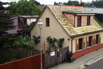 Ferienhaus auf dem Töpferhof (straßenseitig)