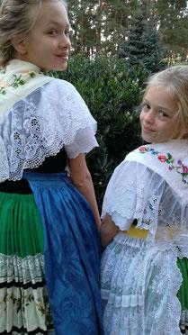 Kinder in sorbischer Tracht, #Spreewaldtracht  #Ferienwohnung #Spreewald
