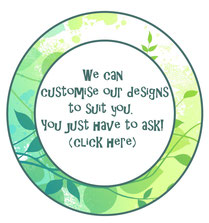 Contact us about customising our designs for you!