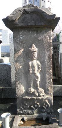 長命寺境内の庚申塔1