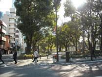 増上寺・三門近くにある公園