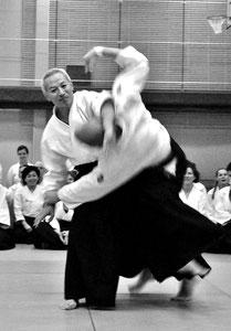 Endo Seishiro Shihan 8. Dan Aikikai