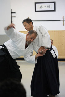 Yasuno Masatoshi Shihan 8. Dan Aikikai
