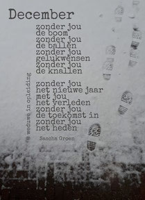 Gedicht December - Weduwe in Opleiding - Sascha Groen