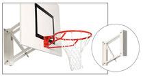 basket mural reglable
