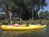 canoe kayak rafting somme picquigny centres de loisirs anniversaires