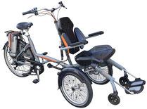 van Raam O-Pair 2 Rollfiets Rollstuhlfahrrad Dreirad und Elektro-Dreirad für Erwachsene - Spezial-Dreirad 2017