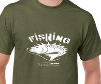 teehirt de pêche
