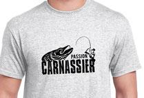 t-shirt passion pêche