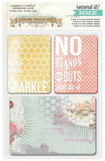 UK Stockist MME Record It! Pocket Page cards