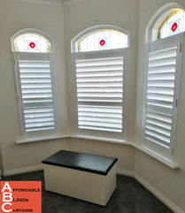 CUSTOM Plantation Shutters for your special windows