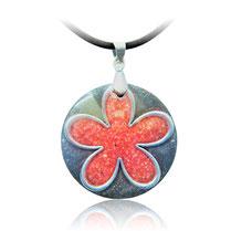 Amulette d'orgone - Fleur de l'Amour -