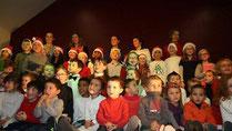 Noël à l'école Saint Aubin du Pavail Chateaugiron