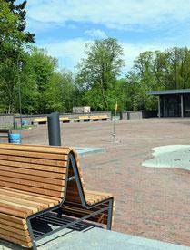 Neuer Dorfplatz in Gnarrenburg