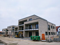 Baustelle Wohnungen in Grasberg