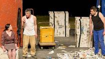Le théâtre en Do de Lanester a jouée à Gourin en 2013.