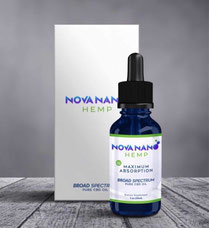 Nova Nano Hemp es el único aceite 100% orgánico de cannabis medicinal creado con Nanotecnología