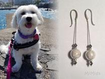 joya-artistica-con-pelo-animal-mi-miga-pendientes-plata-ley-perlas-cristal-tupis-swarovski-perro-sansa