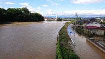須賀川橋上流状況