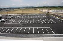 北面駐車場
