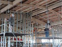 吊り天井設置