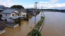 須賀川橋下流状況