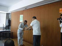 鈴木さん表彰