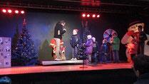 Showtruck Weihnachtsprogramm on tour