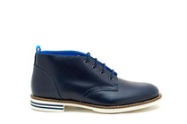 CHAPLIN coloris Navy/white sole