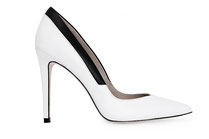ALISA coloris Nappa Vintage White/Black