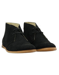 DESERT BOOT coloris Black/nubuck
