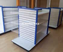 Estanterías metálicas y estanterias de madera para farmacias, papelerías, tiendas y negocios en general