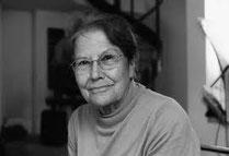 Monica Brügger, geb. 1932, ist die erste Architektin ETH Graubündens.