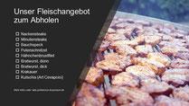 Grillfleisch auf dem Grill