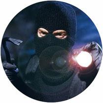 Interventionsdienst, Einbrecher, Kuhfuß, Hilfe, Alarmanlage, Auslösung, SDS Sicherheitsdienst