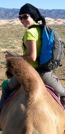 Trek en chameau dans le Gobi