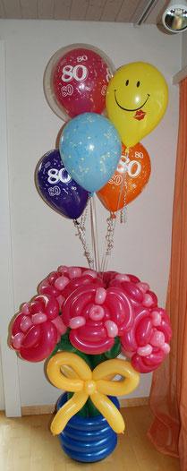Mr. toni balloni ch,Ballonblumenstrauß, Ballonrosen, Geburtstag,Geschenk