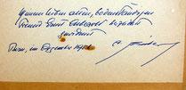 Widmung auf Rückseite. (Ernst Aebersold verstarb ende November 1958)
