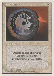Disenchant Italian Unlimited 2nd print run