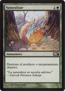 Naturalize Spanish Magic 2011 sample decks