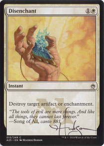 Disenchant English Masters 25 artist proof