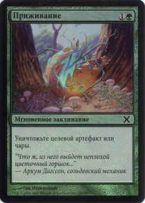 Naturalize Russian Tenth Edition foil