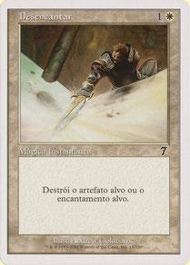 Disenchant Portuguese Seventh Edition theme decks