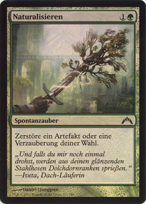 Naturalize German Gatecrash foil