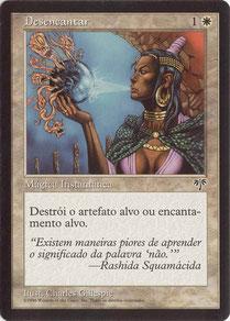 Disenchant Portuguese Mirage 2nd print run